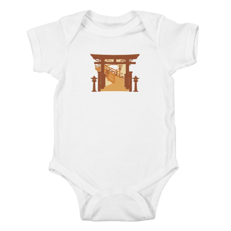 The Temple Kids Baby Bodysuit by Kamonkey's Artist Shop