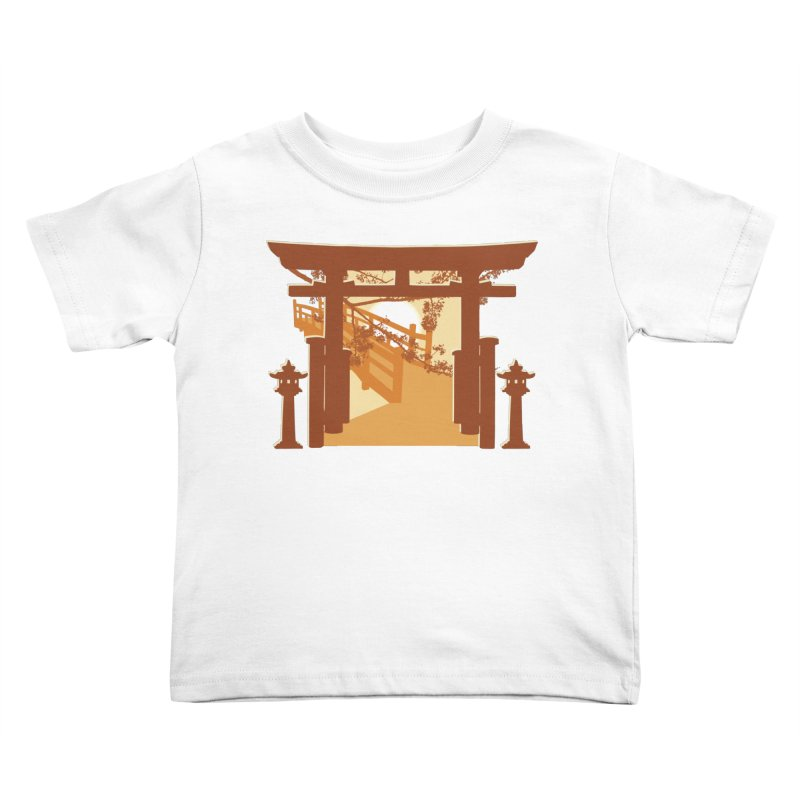 The Temple Kids Toddler T-Shirt by Kamonkey's Artist Shop