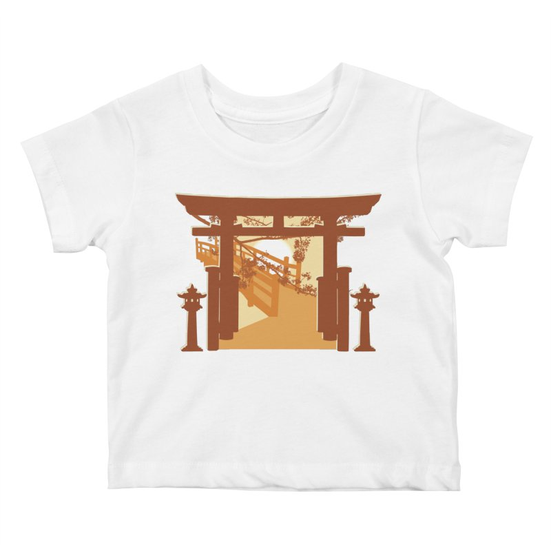 The Temple Kids Baby T-Shirt by Kamonkey's Artist Shop