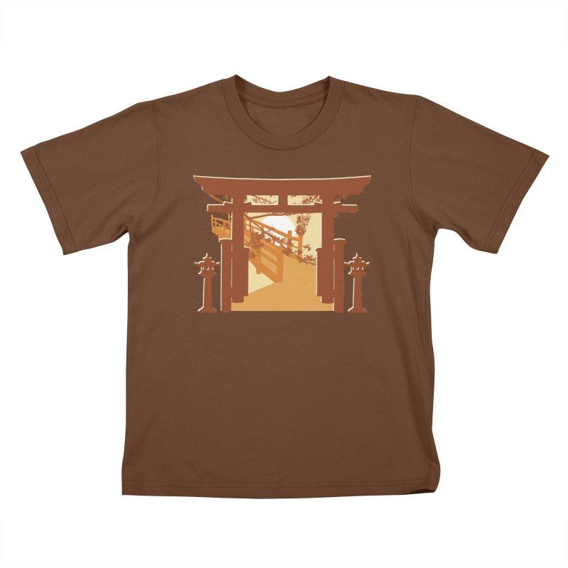 The Temple Kids T-shirt by Kamonkey's Artist Shop