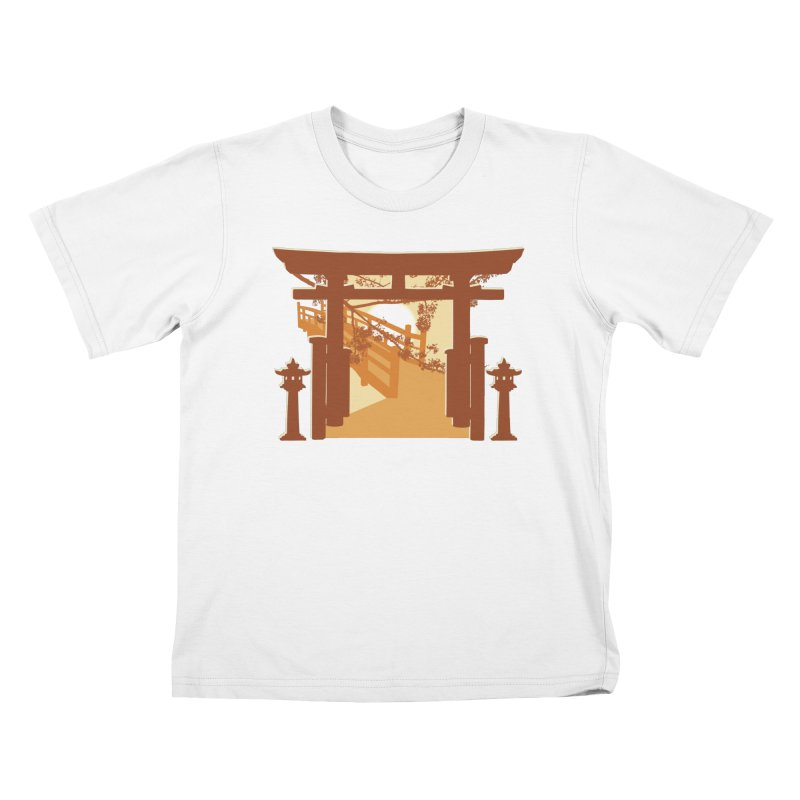 The Temple Kids T-Shirt by Kamonkey's Artist Shop