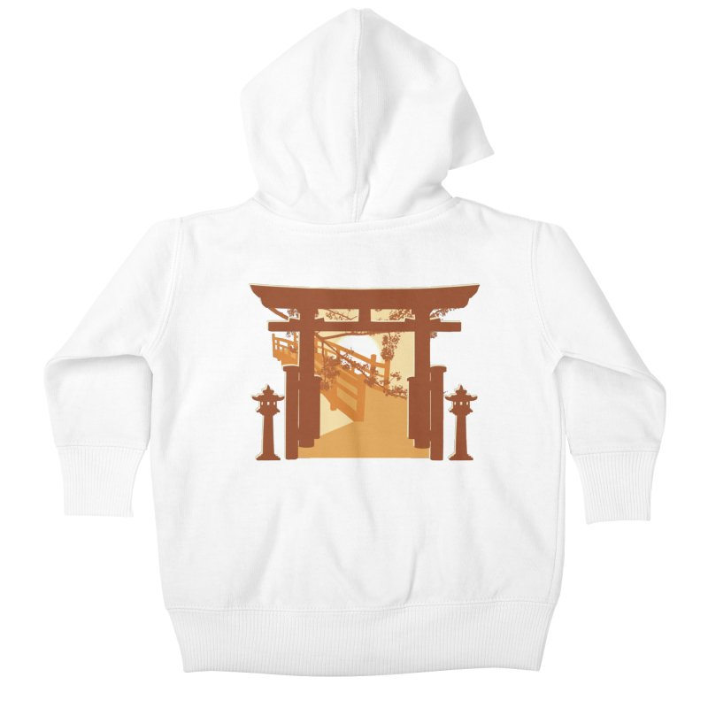 The Temple Kids Baby Zip-Up Hoody by Kamonkey's Artist Shop