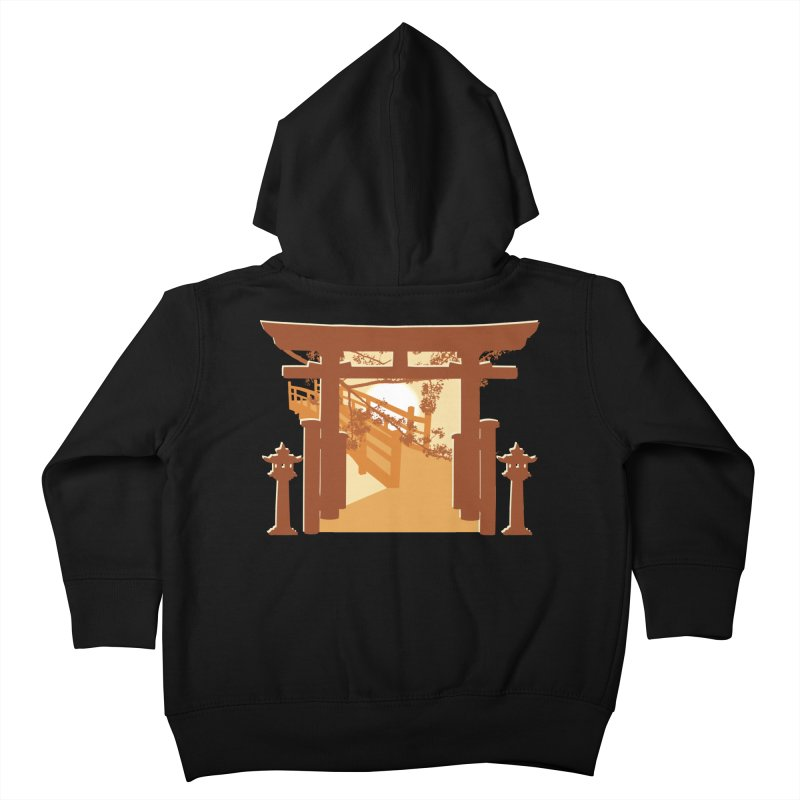 The Temple Kids Toddler Zip-Up Hoody by Kamonkey's Artist Shop