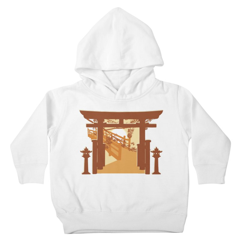 The Temple Kids Toddler Pullover Hoody by Kamonkey's Artist Shop