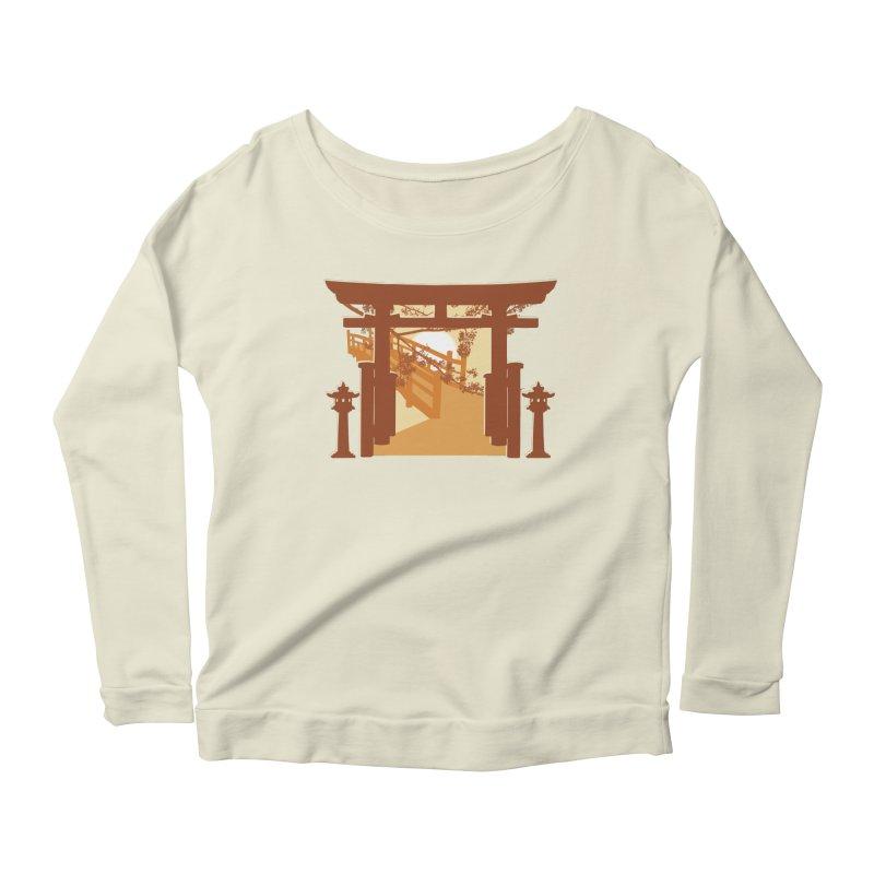 The Temple Women's Scoop Neck Longsleeve T-Shirt by Kamonkey's Artist Shop