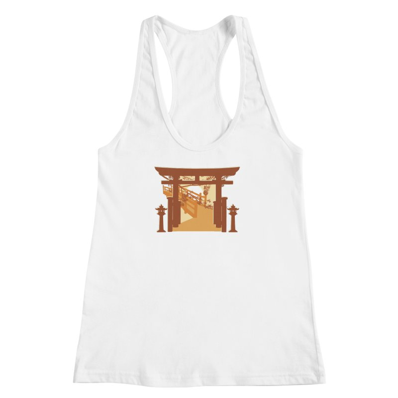 The Temple Women's Racerback Tank by Kamonkey's Artist Shop