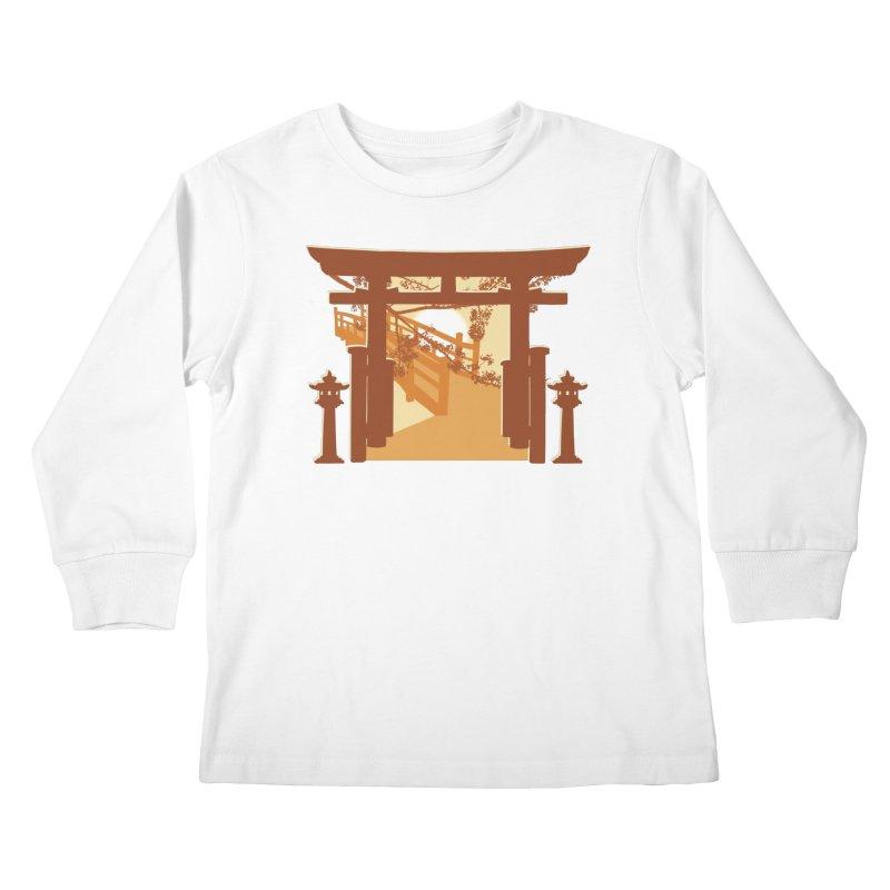 The Temple Kids Longsleeve T-Shirt by Kamonkey's Artist Shop