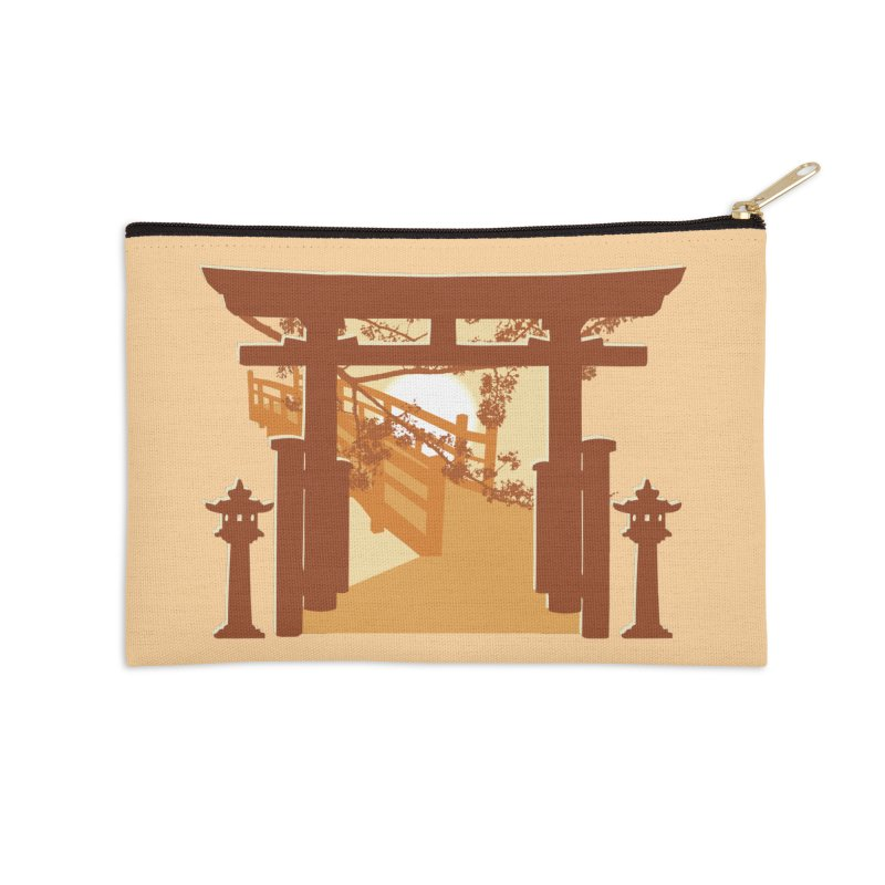 The Temple Accessories Zip Pouch by Kamonkey's Artist Shop