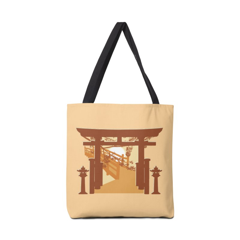 The Temple Accessories Tote Bag Bag by Kamonkey's Artist Shop