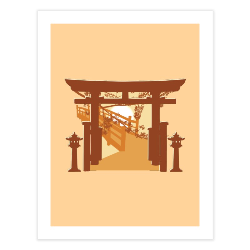 The Temple Home Fine Art Print by Kamonkey's Artist Shop