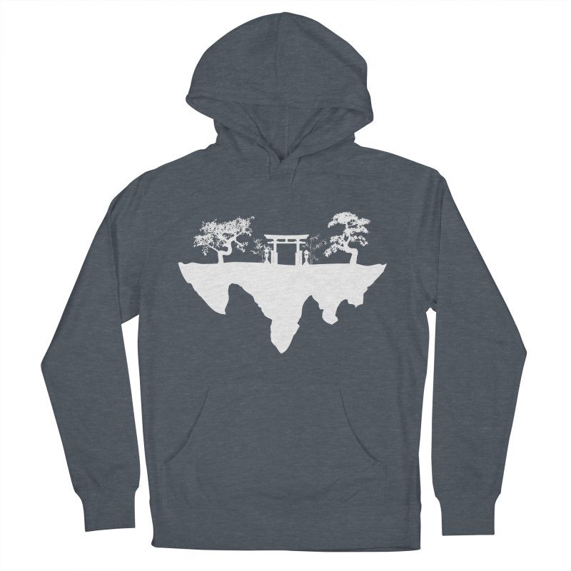 The Hovering Temple Women's French Terry Pullover Hoody by Kamonkey's Artist Shop