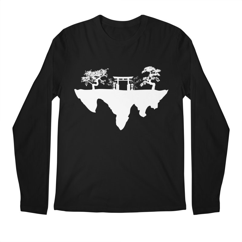 The Hovering Temple Men's Regular Longsleeve T-Shirt by Kamonkey's Artist Shop