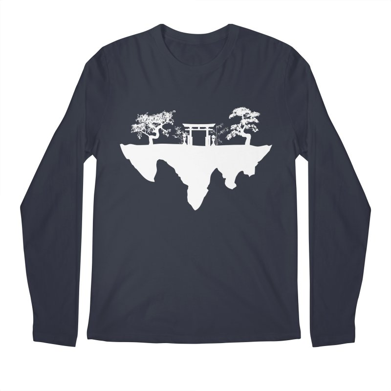 The Hovering Temple Men's Longsleeve T-Shirt by Kamonkey's Artist Shop