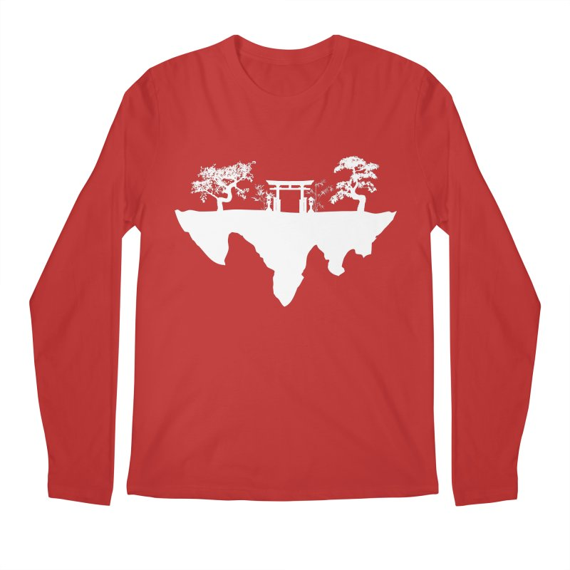 The Hovering Temple Men's Regular Longsleeve T-Shirt by Kamonkey's Artist Shop