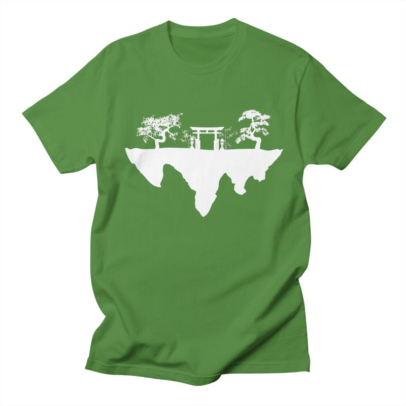 The Hovering Temple Men's Regular T-Shirt by Kamonkey's Artist Shop