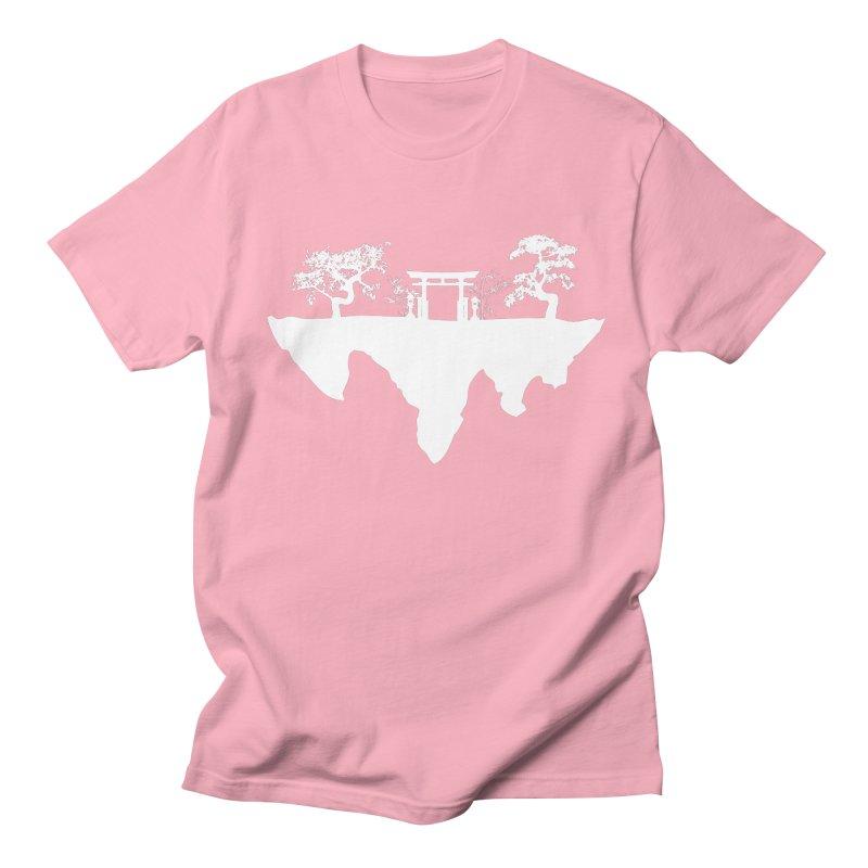The Hovering Temple Women's Regular Unisex T-Shirt by Kamonkey's Artist Shop