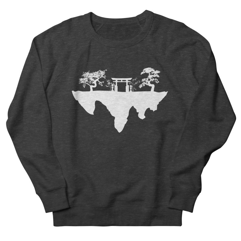 The Hovering Temple Women's French Terry Sweatshirt by Kamonkey's Artist Shop