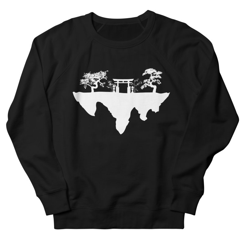 The Hovering Temple Women's Sweatshirt by Kamonkey's Artist Shop