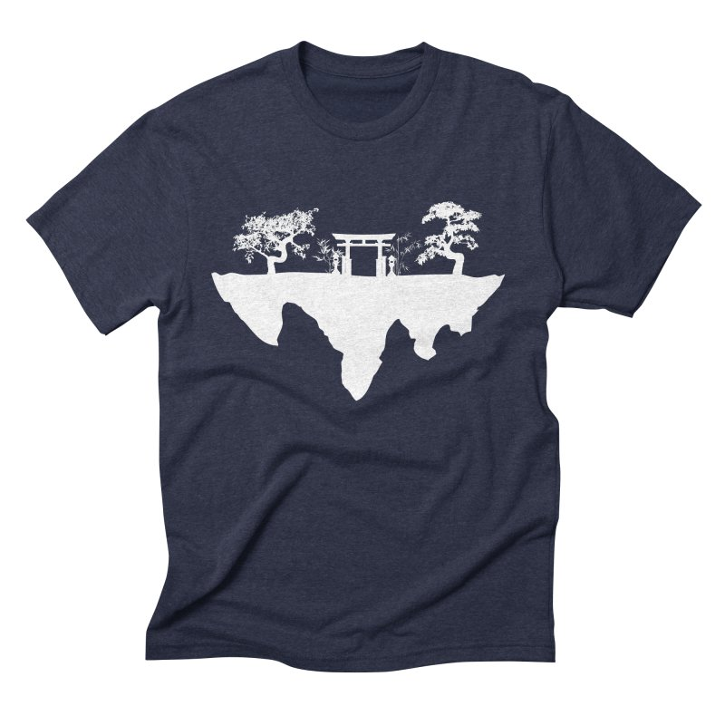 The Hovering Temple Men's Triblend T-Shirt by Kamonkey's Artist Shop