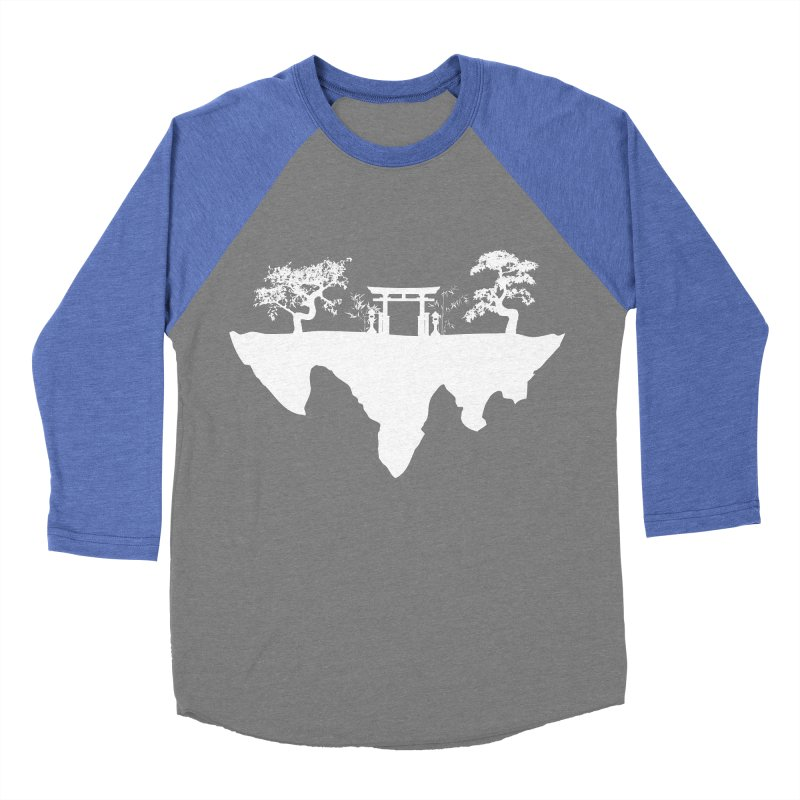 The Hovering Temple Women's Baseball Triblend T-Shirt by Kamonkey's Artist Shop