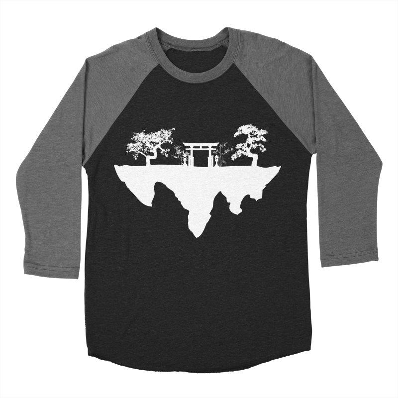 The Hovering Temple Women's Baseball Triblend Longsleeve T-Shirt by Kamonkey's Artist Shop