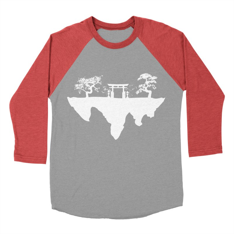 The Hovering Temple Men's Baseball Triblend T-Shirt by Kamonkey's Artist Shop