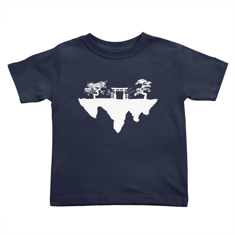 The Hovering Temple Kids Toddler T-Shirt by Kamonkey's Artist Shop