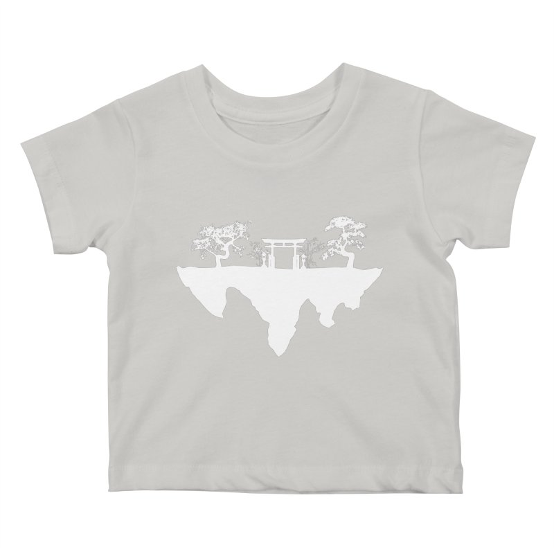 The Hovering Temple Kids Baby T-Shirt by Kamonkey's Artist Shop
