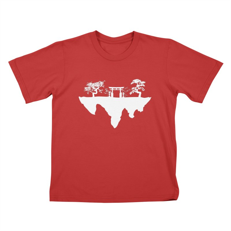 The Hovering Temple Kids T-shirt by Kamonkey's Artist Shop
