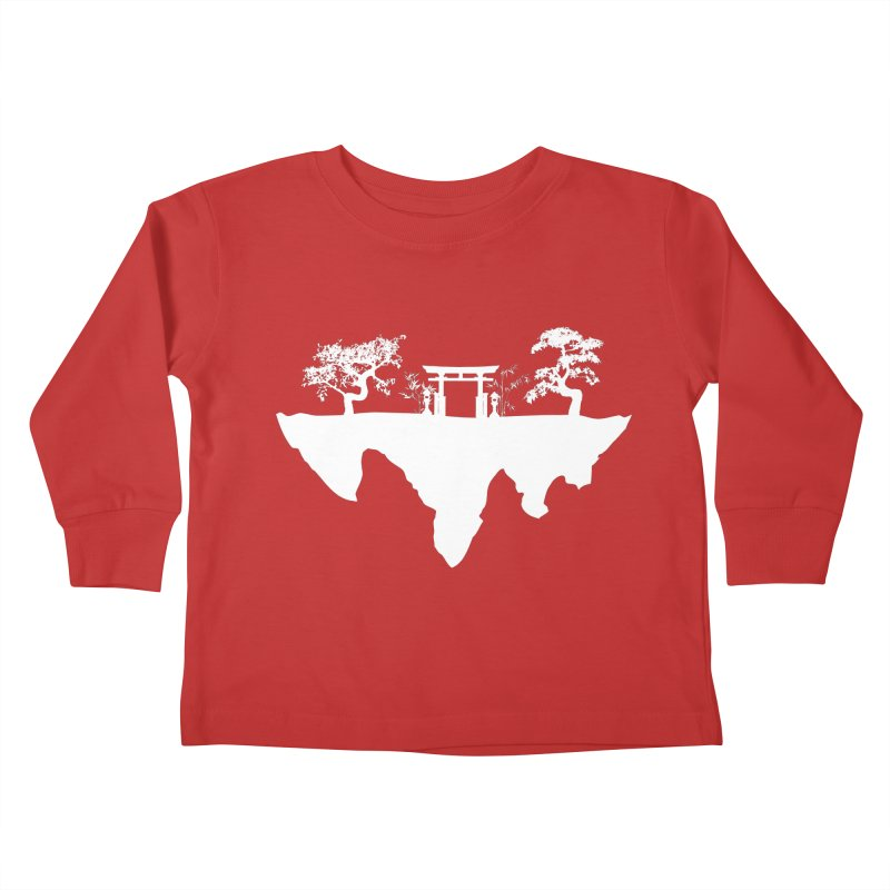 The Hovering Temple Kids Toddler Longsleeve T-Shirt by Kamonkey's Artist Shop