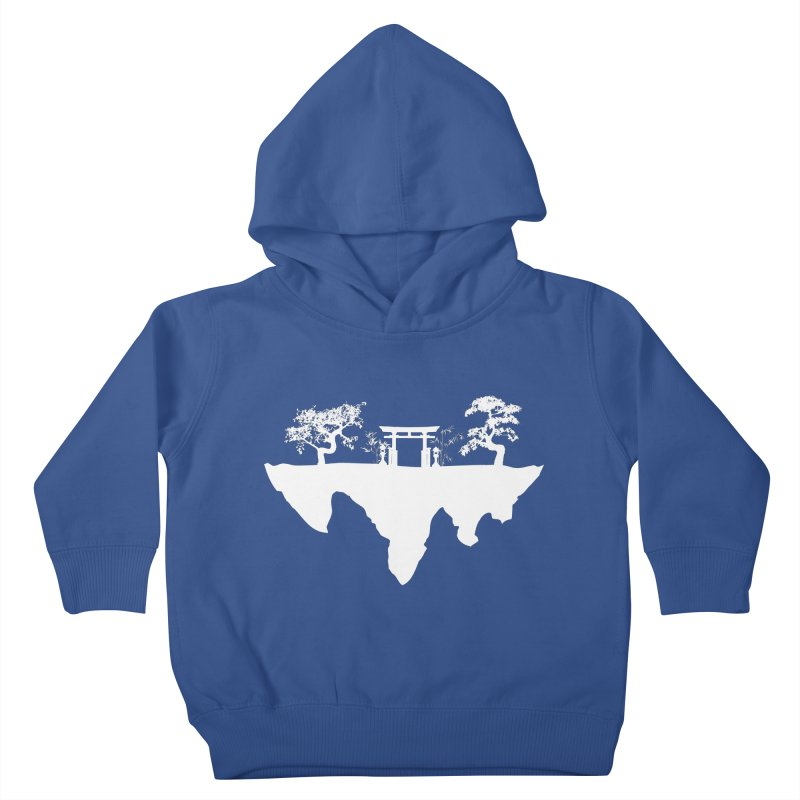 The Hovering Temple Kids Toddler Pullover Hoody by Kamonkey's Artist Shop