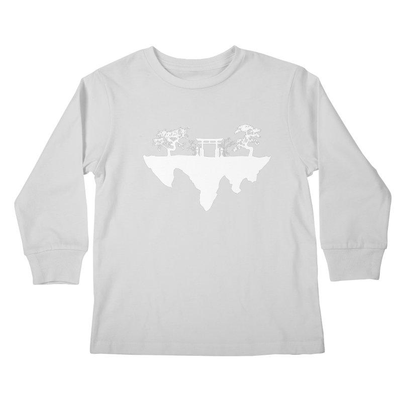 The Hovering Temple Kids Longsleeve T-Shirt by Kamonkey's Artist Shop