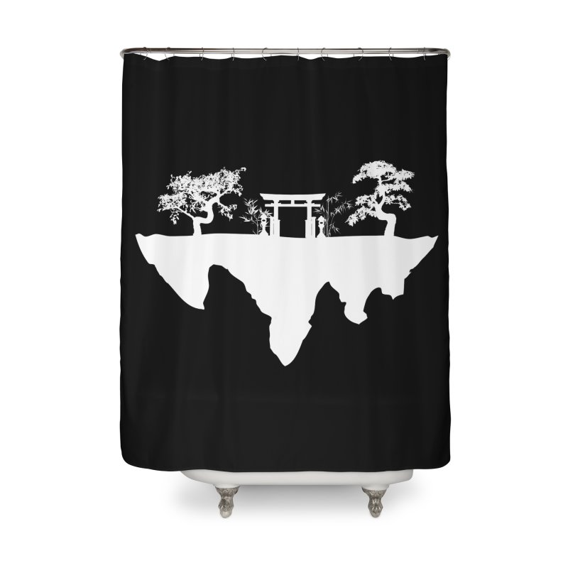 The Hovering Temple Home Shower Curtain by Kamonkey's Artist Shop