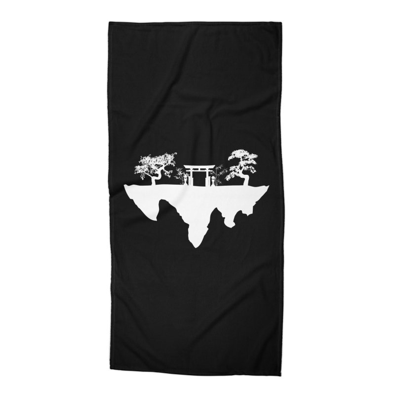 The Hovering Temple Accessories Beach Towel by Kamonkey's Artist Shop
