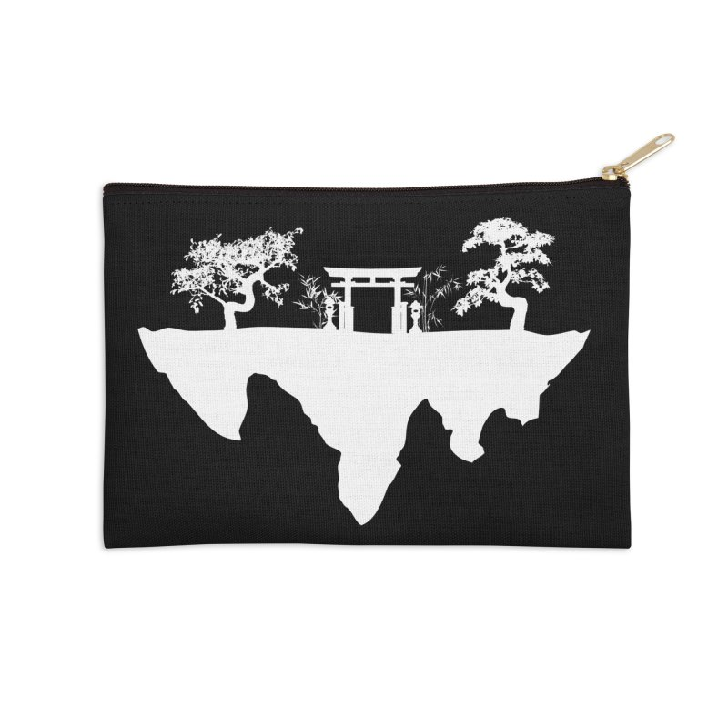 The Hovering Temple Accessories Zip Pouch by Kamonkey's Artist Shop