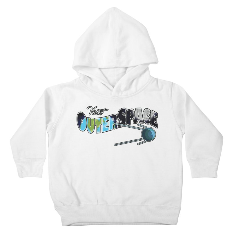 Visit Outer Space Kids Toddler Pullover Hoody by Kamonkey's Artist Shop