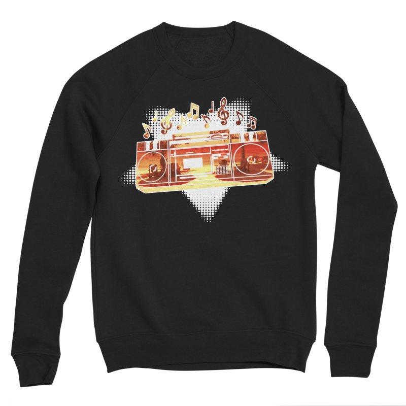 Summer Playlist, Summer Lovin' Men's Sponge Fleece Sweatshirt by Kamonkey's Artist Shop