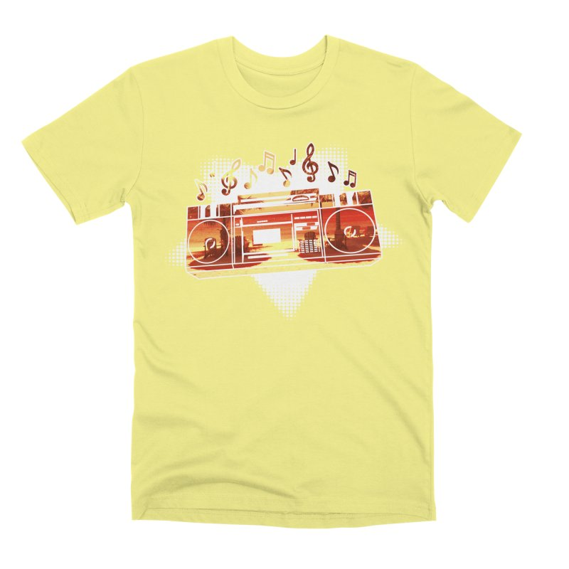 Summer Playlist, Summer Lovin' Men's Premium T-Shirt by Kamonkey's Artist Shop
