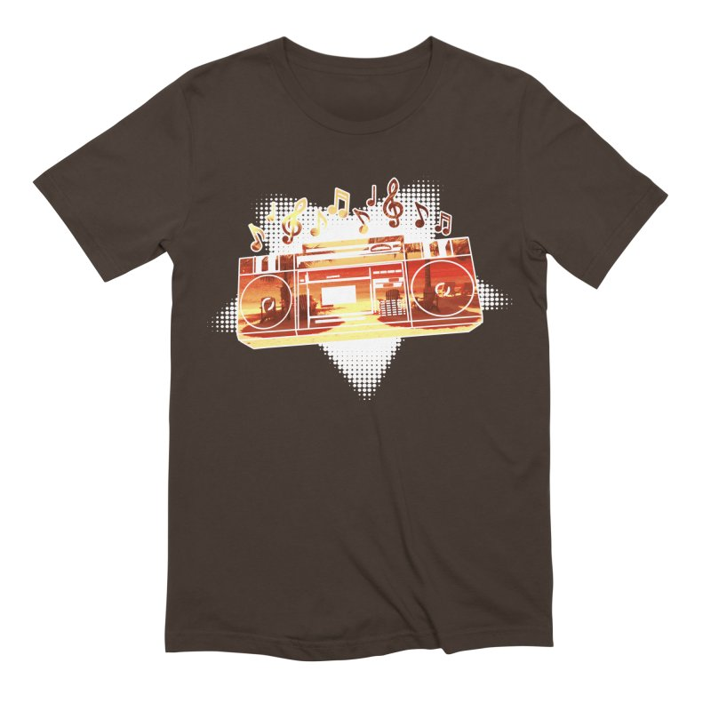 Summer Playlist, Summer Lovin' Men's Extra Soft T-Shirt by Kamonkey's Artist Shop