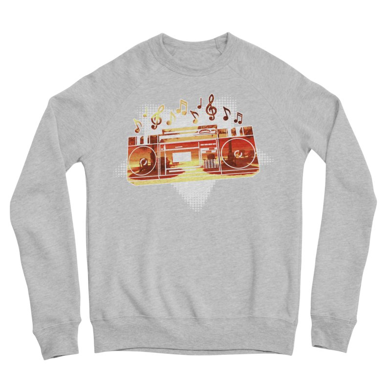 Summer Playlist, Summer Lovin' Men's Sponge Fleece Sweatshirt by Kamonkey's Artist Shop