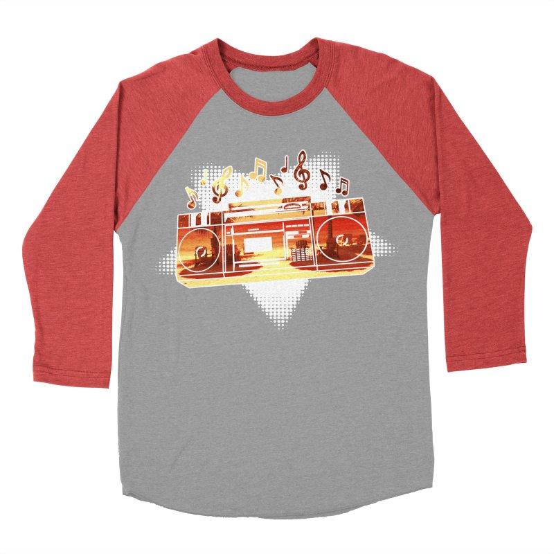 Summer Playlist, Summer Lovin' Men's Baseball Triblend Longsleeve T-Shirt by Kamonkey's Artist Shop