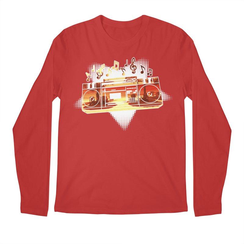 Summer Playlist, Summer Lovin' Men's Regular Longsleeve T-Shirt by Kamonkey's Artist Shop