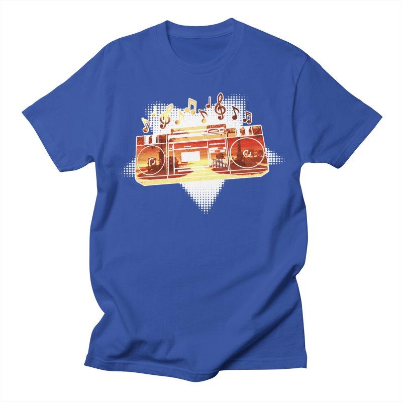 Summer Playlist, Summer Lovin' Men's Regular T-Shirt by Kamonkey's Artist Shop