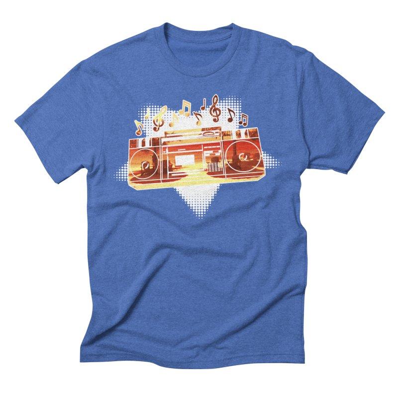 Summer Playlist, Summer Lovin' Men's Triblend T-Shirt by Kamonkey's Artist Shop