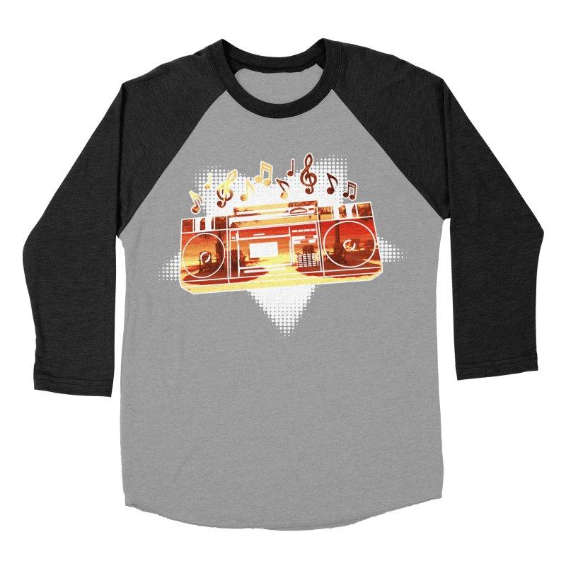 Summer Playlist, Summer Lovin' Women's Baseball Triblend Longsleeve T-Shirt by Kamonkey's Artist Shop