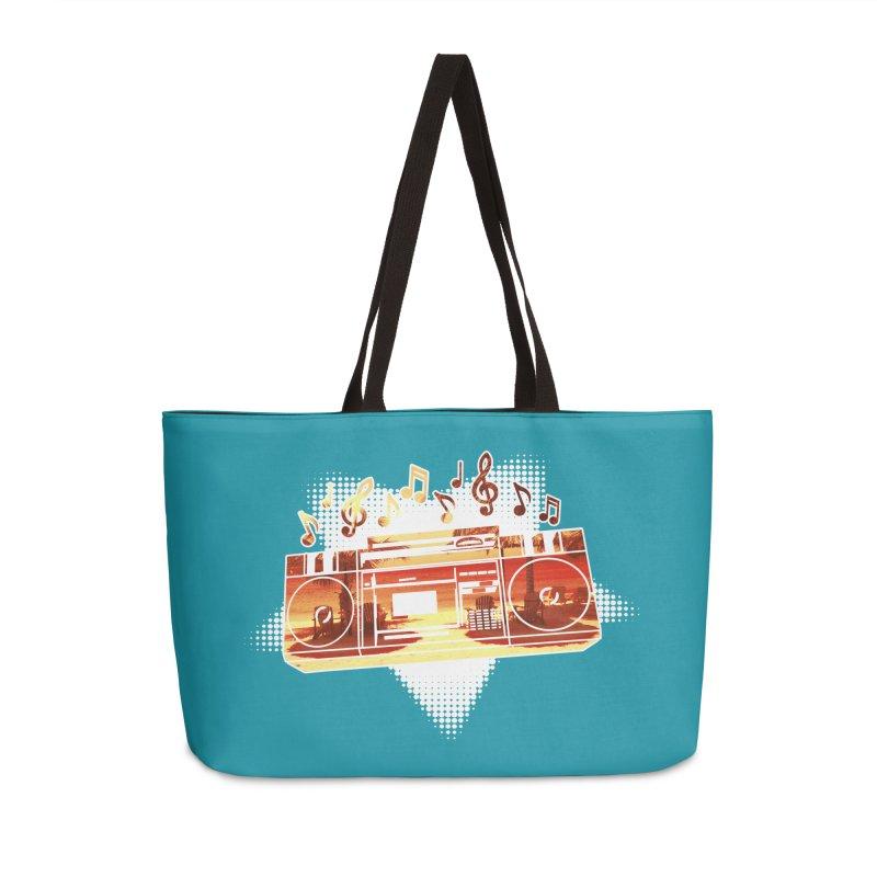 Summer Playlist, Summer Lovin' Accessories Weekender Bag Bag by Kamonkey's Artist Shop