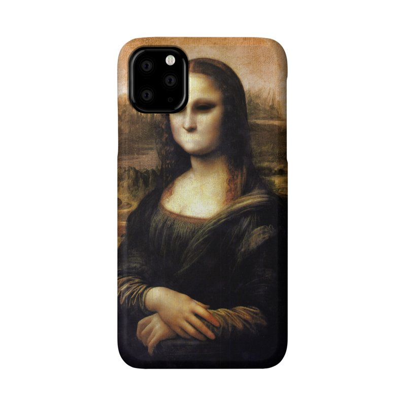 Silent Mona Lisa Accessories Phone Case by Kamonkey's Artist Shop