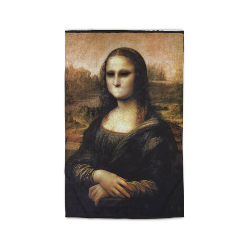 Silent Mona Lisa Home Rug by Kamonkey's Artist Shop