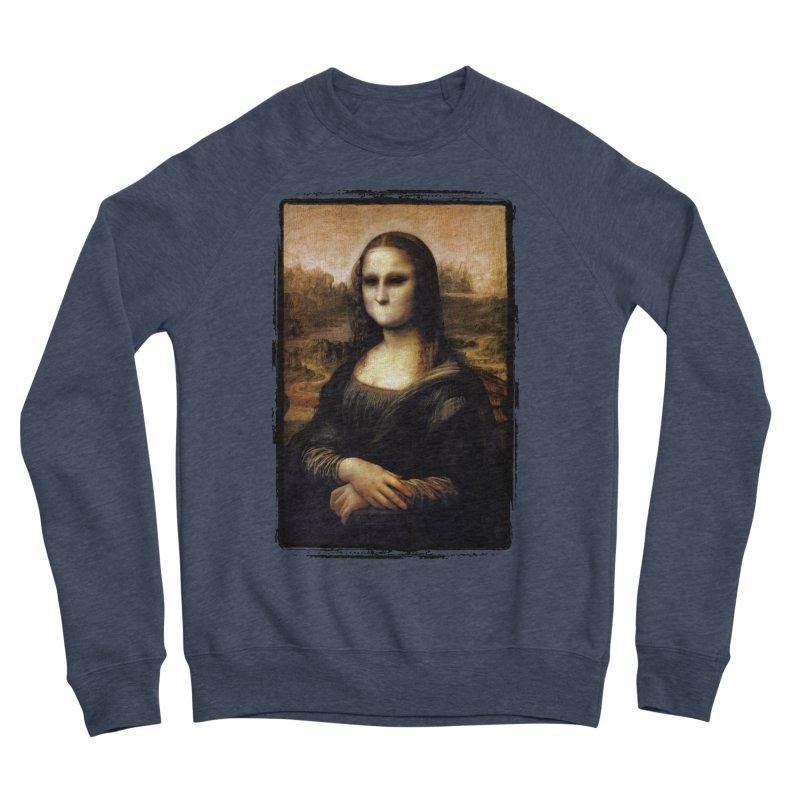 Silent Mona Lisa Men's Sponge Fleece Sweatshirt by Kamonkey's Artist Shop