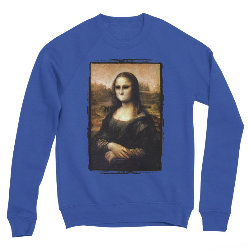 Silent Mona Lisa Women's Sponge Fleece Sweatshirt by Kamonkey's Artist Shop